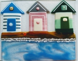 Glass Fusion - Seascapes & Beach Huts