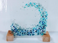 The Art of Glass Fusion - Wave